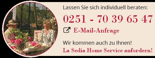 Fordern Sie kostenlose Beratung für einen schönen Garten mit Edelstahl Gartenmöbeln an